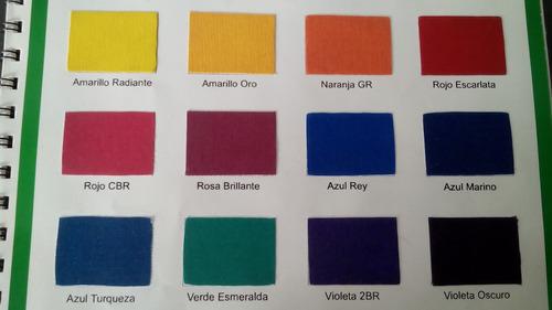 20 colores  base de glicerina vegetal de 40ml