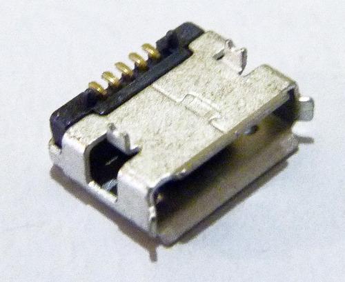 20 conectores micro usb para celulares y tablets  tipo a