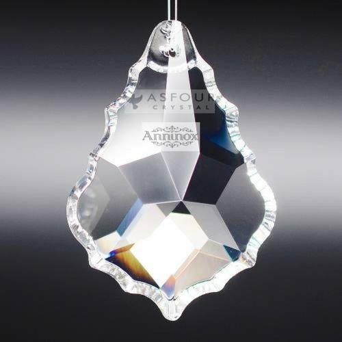 20 cristais asfour placa bacalhau 3,8 cm para lustres