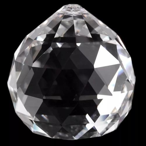 20 cristais esfera 30mm para feng shui e lustres de cristal