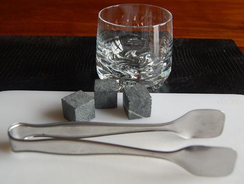 20 cubos pedra sabão gelar whisky + caixa *os originais*