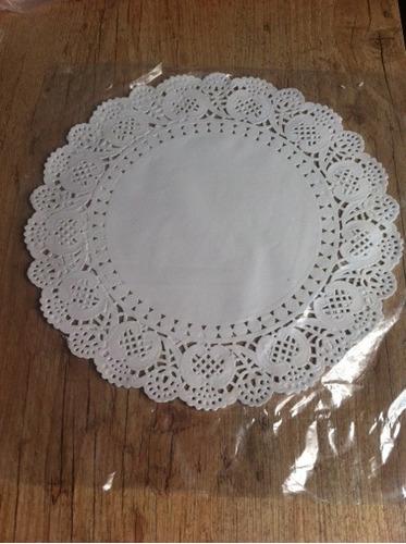 20 doilies toalha papel rendado redondo  32cm convite