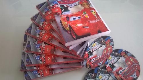 20 dvds + impressão direto na midia + box + capa 12x s/juros