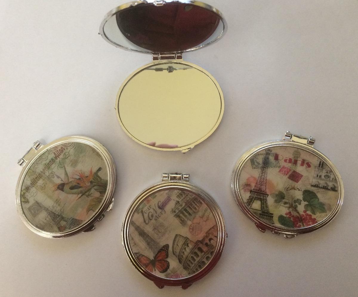 20 espejos de bolsillo ideales para recuerdos o personalizar en mercado libre - Espejos de bolsillo ...