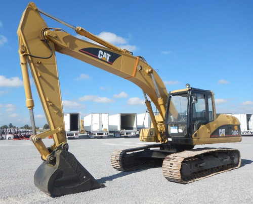 20) excavadora caterpillar 320 cl 2006