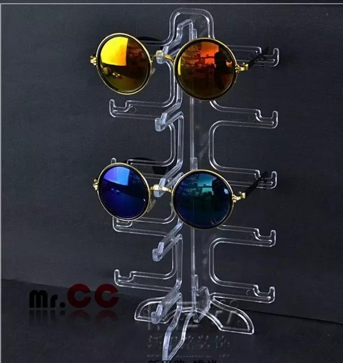 c7fe0f0e46162 20 Expositor De Óculos Platileira Balcao Acrílico 5 Lugares - R  280 ...