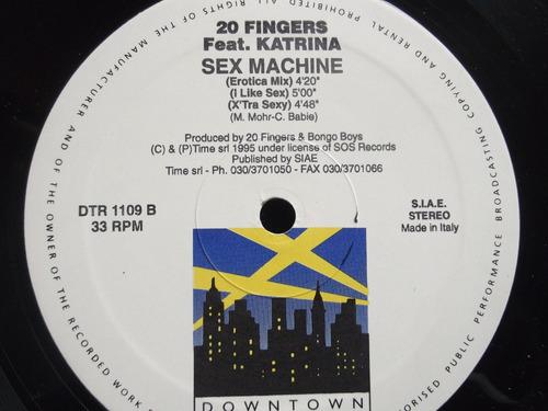 20 fingers - feat - katrina - sex machine - 5 tracks - italy