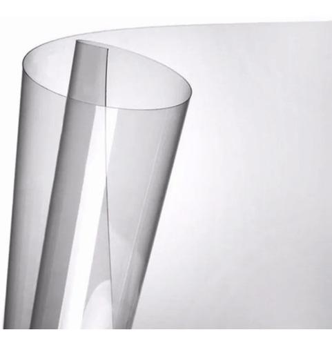 20 folhas de acetato transparente - 20x30cmx0,20mm esp.