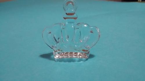 20 frozen coroa princesa elsa  acrilico 2cm