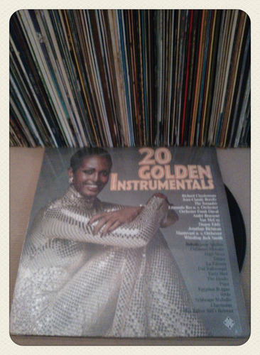 20 golden instrumetals  vinilo importado - un tesoro musical