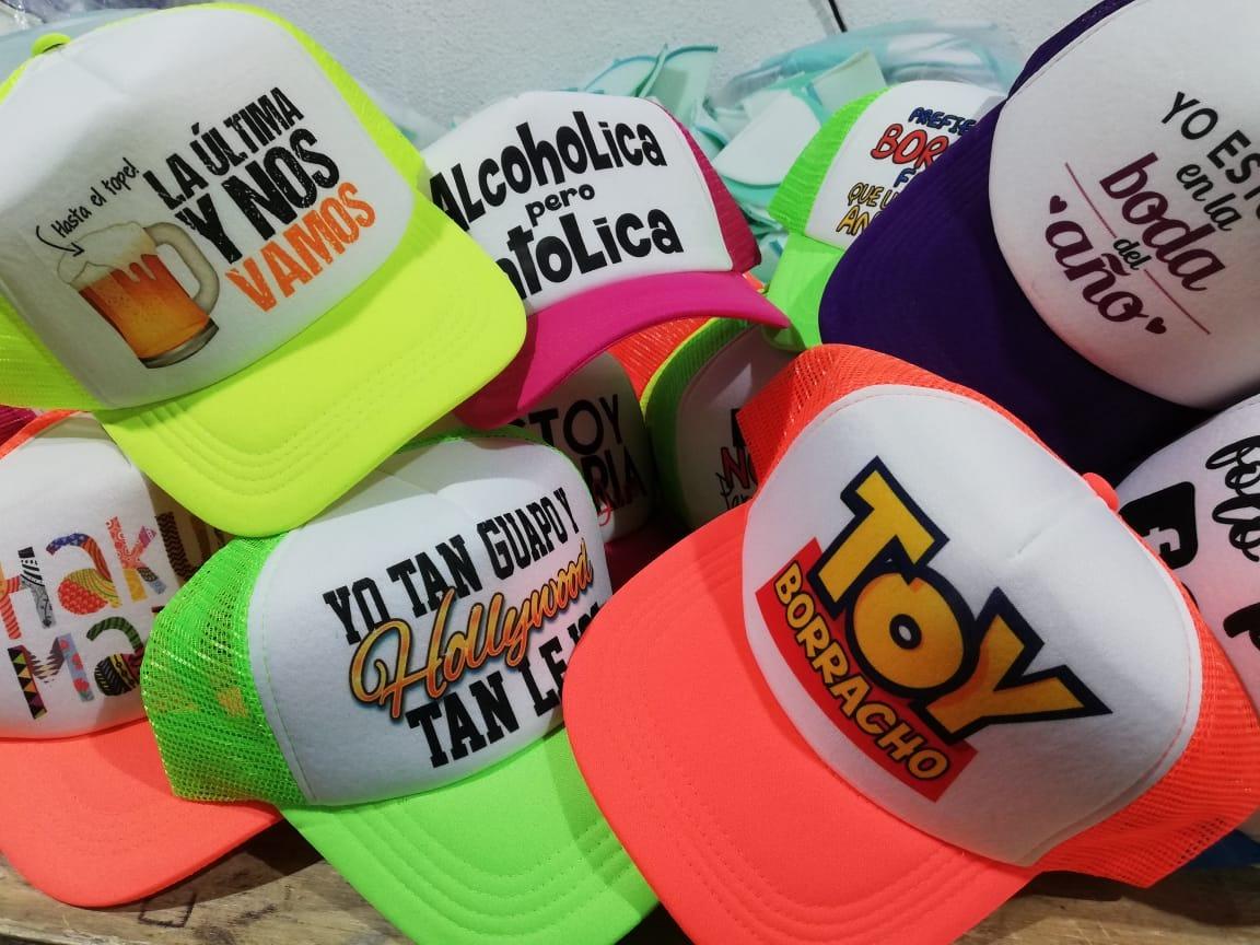 20 Gorras Impresas Envio Gratis -   600.00 en Mercado Libre e0de3654457