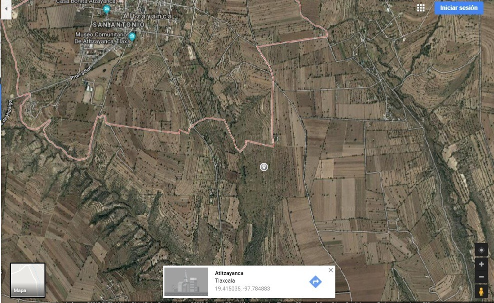 20 hectáreas de terreno, propiedad escriturada.