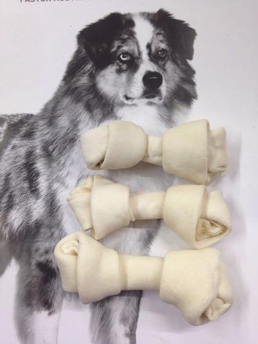 20 huesos de carnaza p/perro de 4-5  (10-12 cm) c/envío