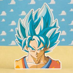 20 Invitaciones Cumpleaños Dragon Ball Forma De Goku