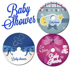 20 Invitaciones O Recuerdos En Cd Dvd Para Tu Baby Shower