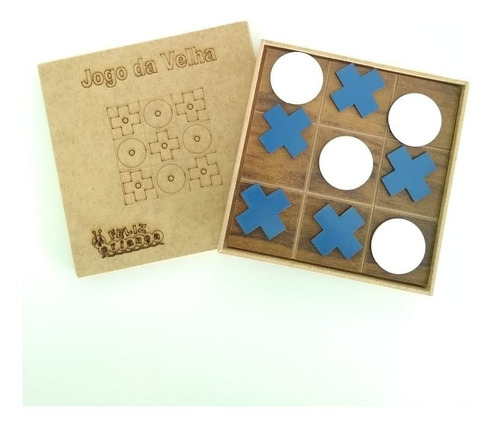 20 jogos da velha x e o mdf  - lembrancinha