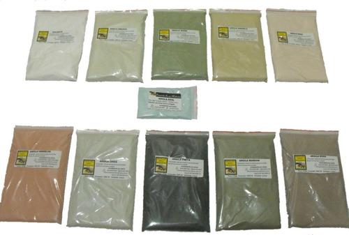 20 kg de argila frete grátis todas cores revenda promoção