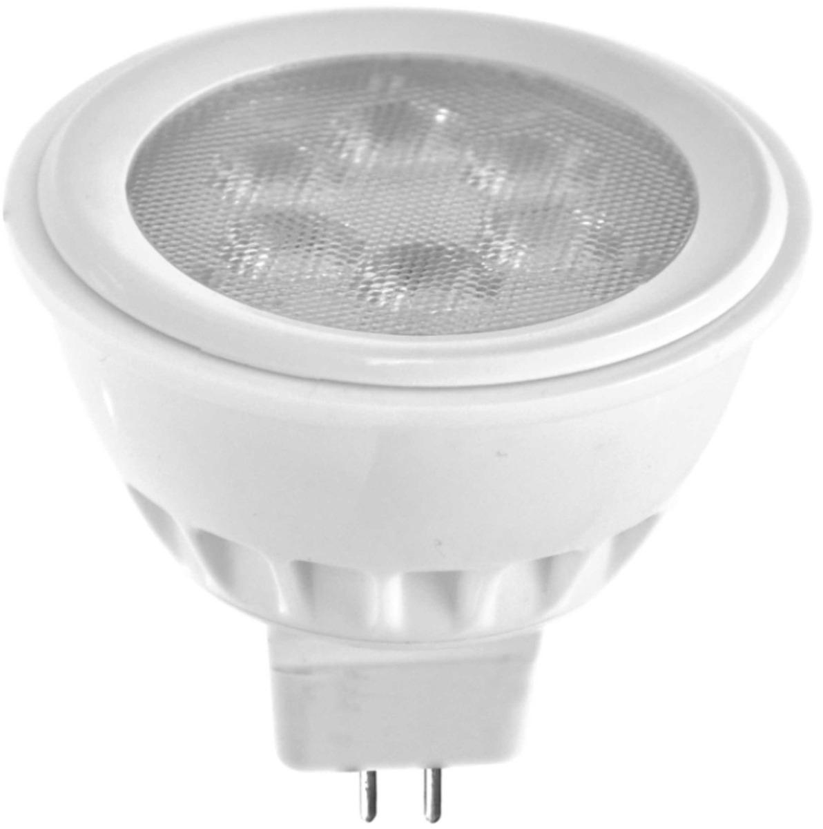 20 lampadas led dicroica mr16 3w 12v branco frio luz for Lampada led