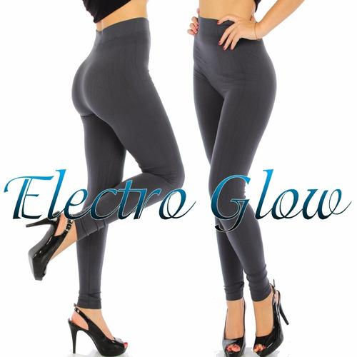 20 leggins jera jeans dama termico afelpados originales