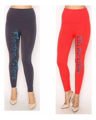 20 leggins jera jeans dama térmicos afelpados faja