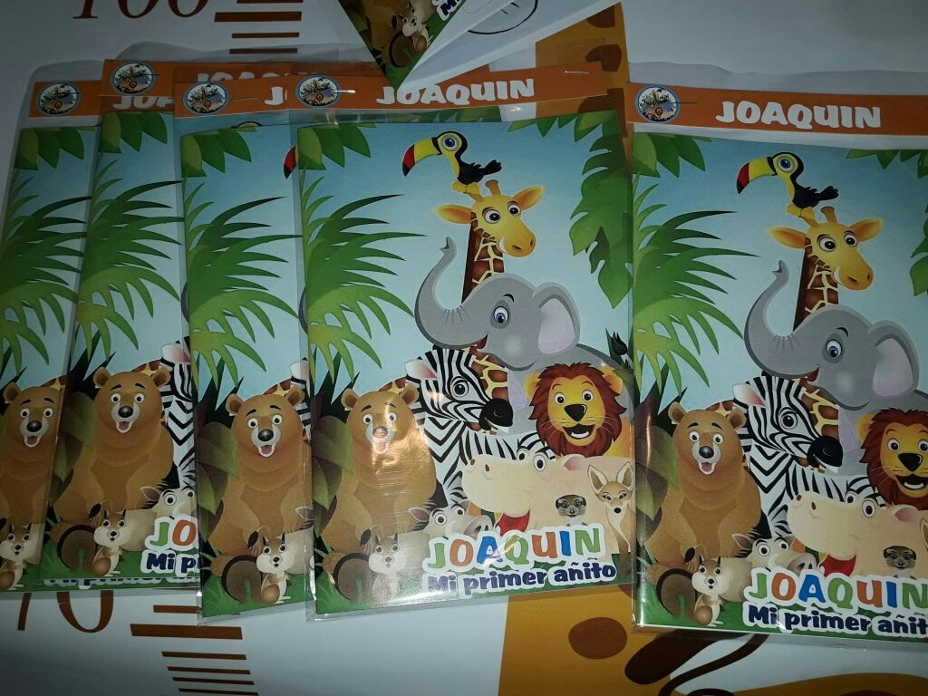 20 Libr Para Pintar Animales Selva Super Gdes 30000