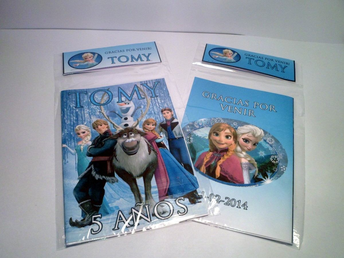 20 Libros Para Colorear Personalizados, Souvenirs Cumpleaños - $ 490 ...