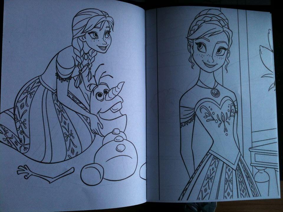 20 Libros Para Colorear Souvenirs Personalizados Frozen Elsa