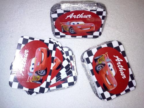 20 mamitinhas tema carros em  biscuit