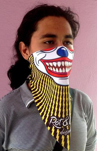 20 máscara pañuelo cubreboca calavera zombie regalo original