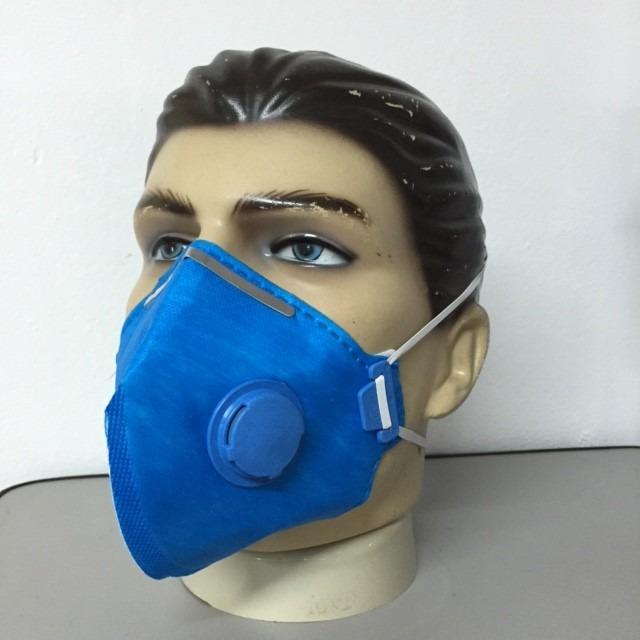 20 máscara respiratória pff2 com válvula r 99 98 em mercado livre