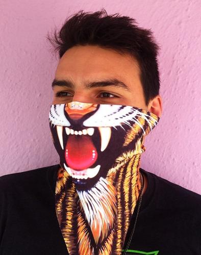 20 máscaras pañuelo cubreboca payaso azul regalo original