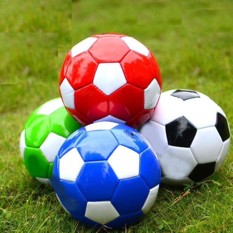 20 Mini Bola De Futebol Tamanho 2 Couro Sintético Revenda