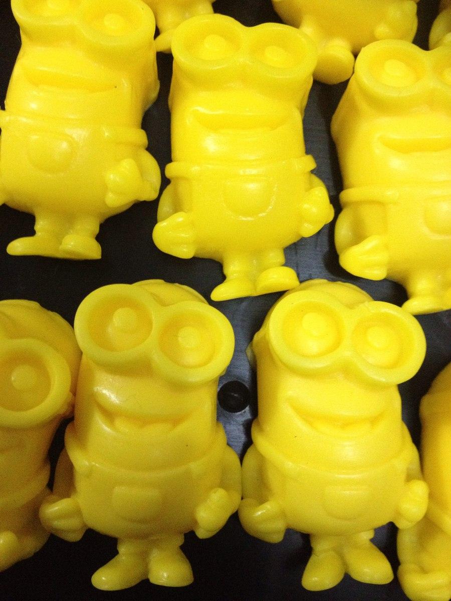 20 Mini Sabonetes P/ Lembrancinhas Aniversario Minions - R$ 15,00 em  Mercado Livre