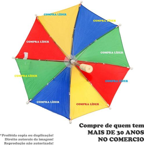 20 mini sombrinha frevo dança carnaval guarda chuva li@