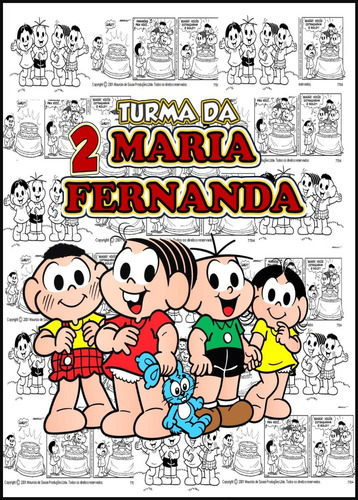 0e94e1c33 20 Mochilas / Bolsas /sacolas Personalizadas Turma Da Monica - R ...