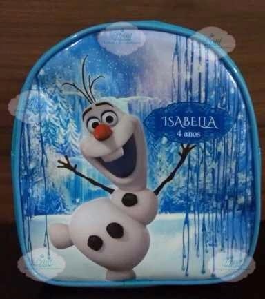 20 mochilas frozen personalizadas