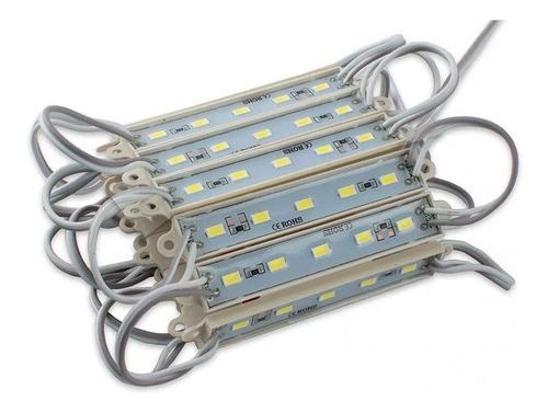 20 módulos luz 5 led 5630
