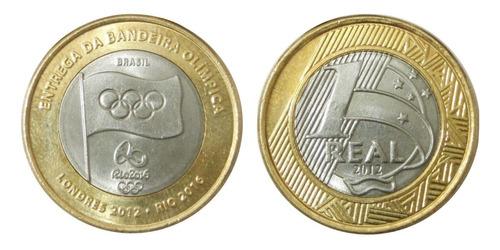 20 moedas comemorativas de 1 real