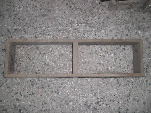 20 moldes para hacer ladrillos en lote