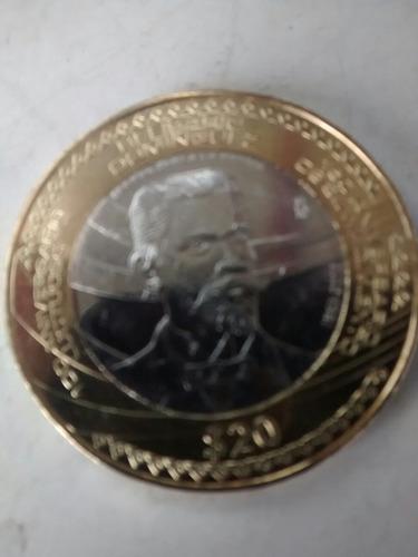 20 monedas de belisario domínguez sin circular