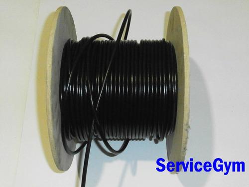 20 mts x 5 mm cable de acero forrado gimnasio servicegym
