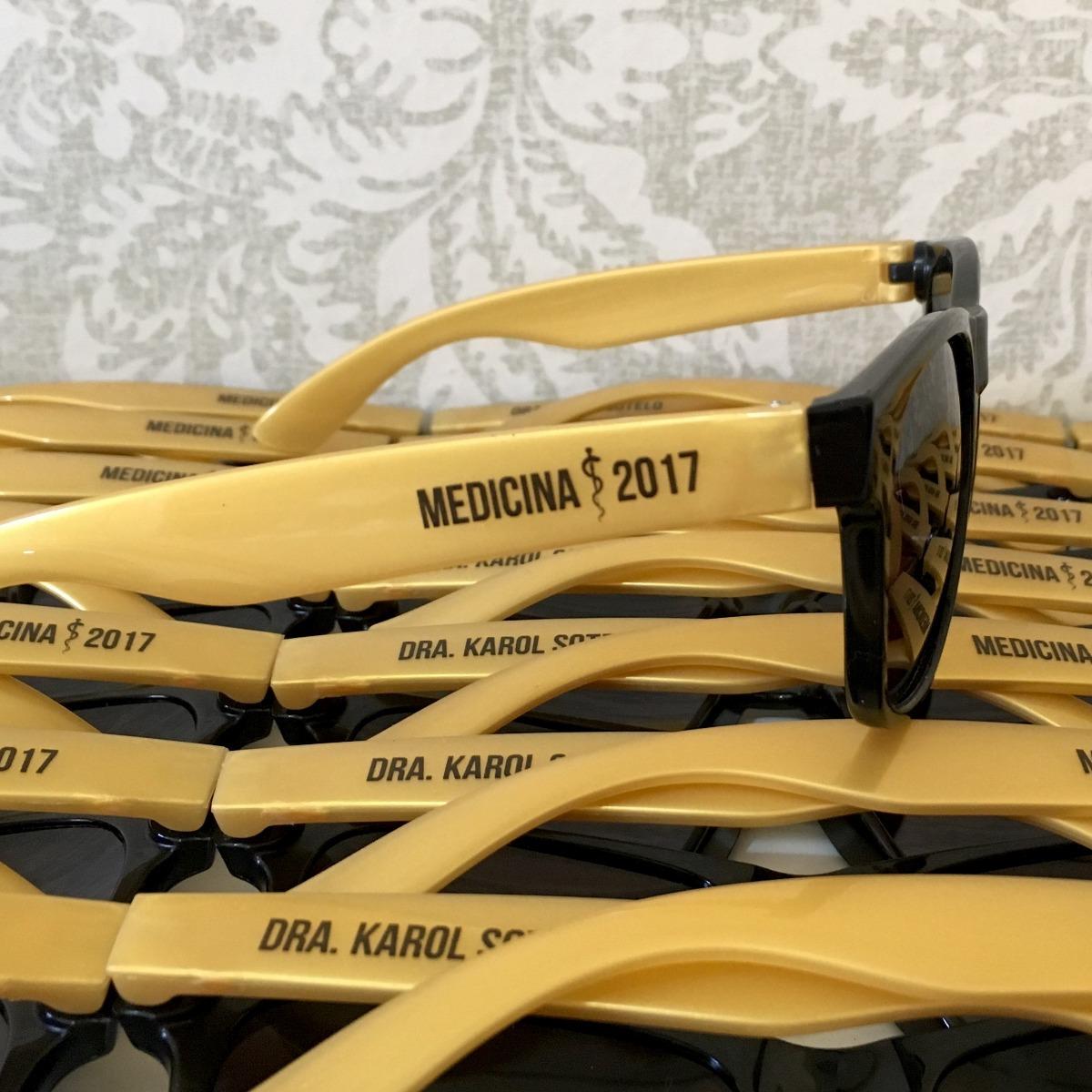 5cf38fe86 20 Óculos De Sol Personalizados - Brindes, Festa, Formatura - R$ 278 ...