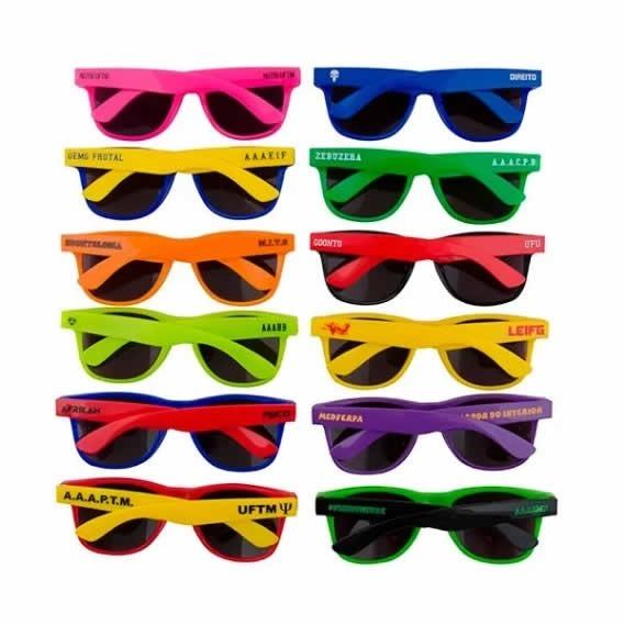 b207c7f5c8240 20 Óculos Personalizado Logotipo Frase Frete Grátis - R  215
