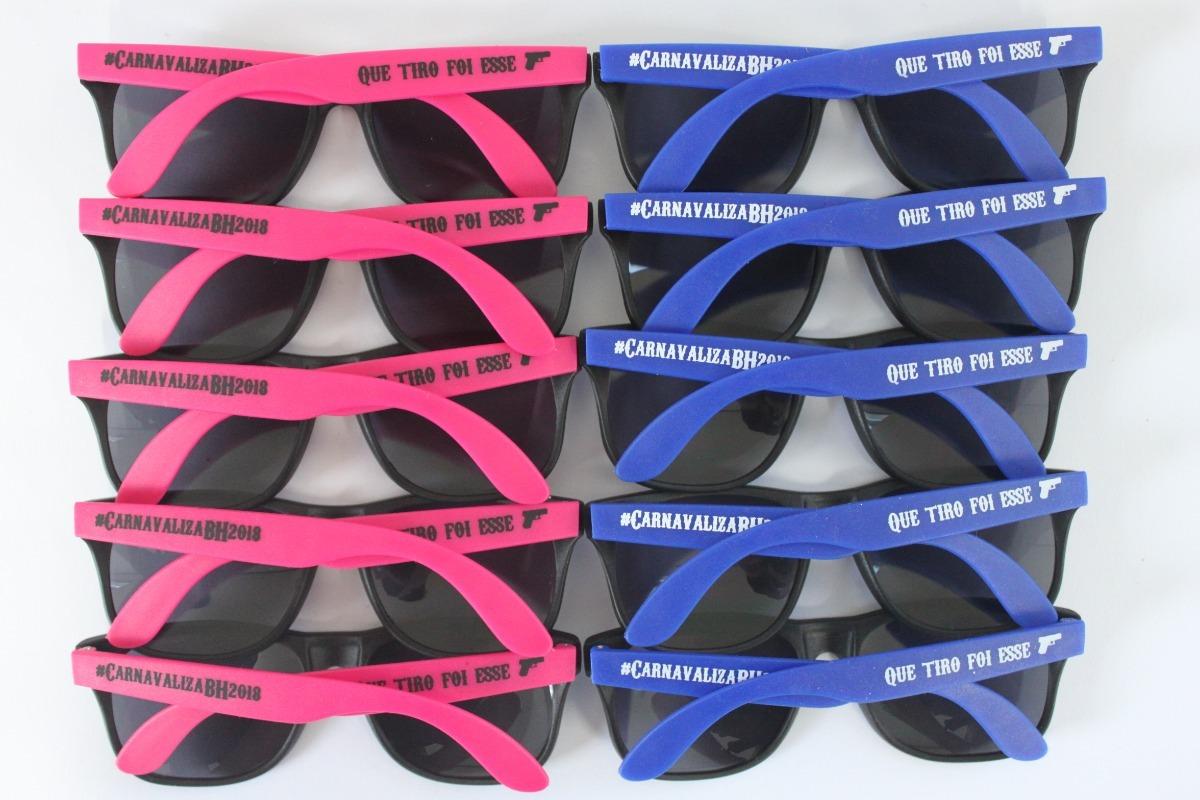 20 óculos Personalizado Logotipo Frase Frete Grátis