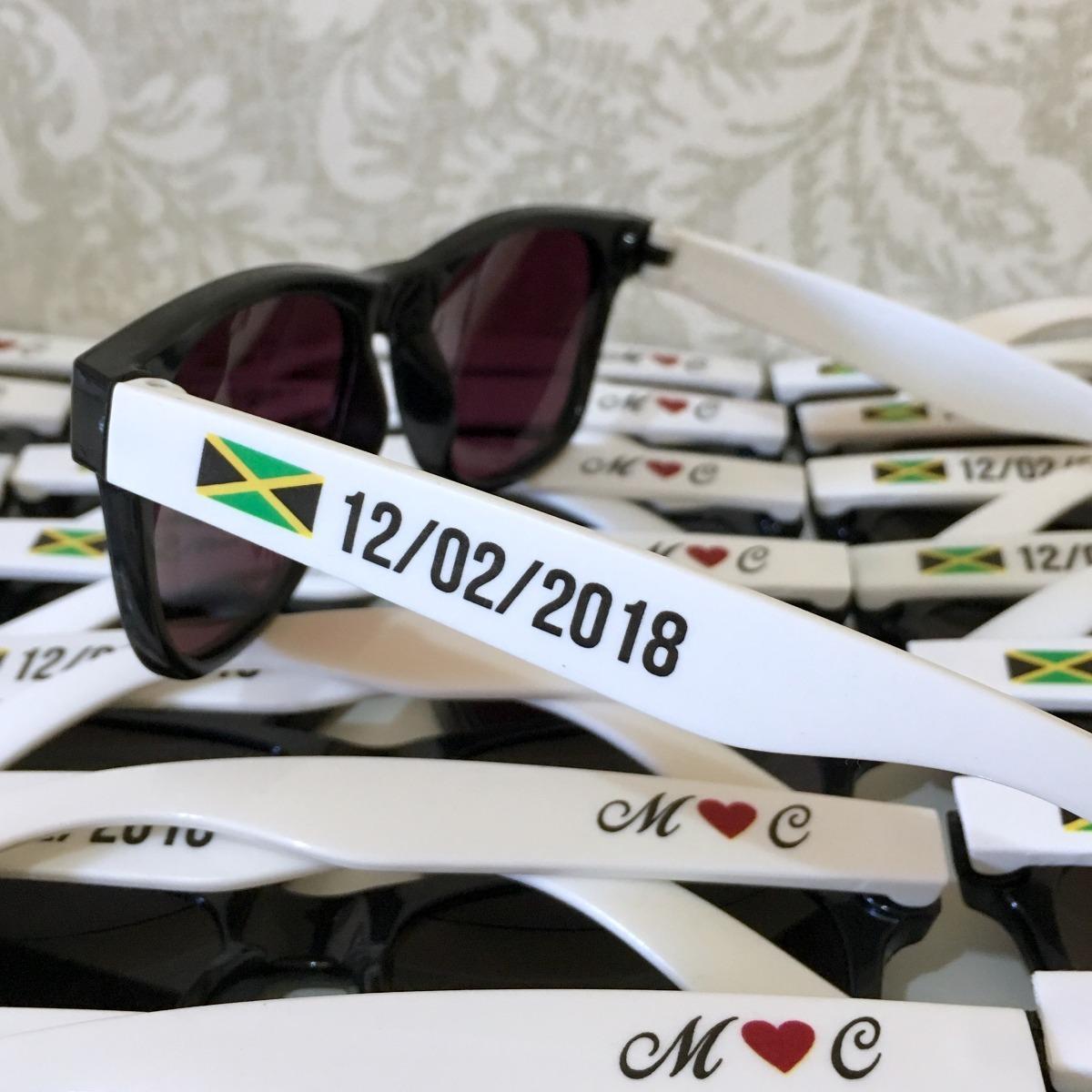 d31ea1731b528 20 óculos personalizados bicolor festa brinde wayfarer. Carregando zoom.