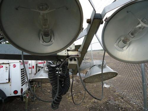 20) oferta torre de luz magnum de 6 kw 2006 con 4 lamparas