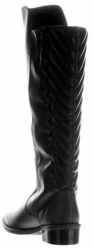 20% off bota montaria tanara couro metalassê n6803 - preta