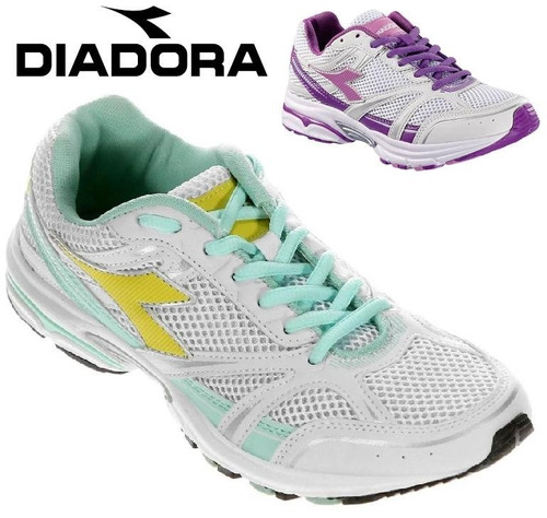 20% off tênis diadora feminino shape corrida academia 158970
