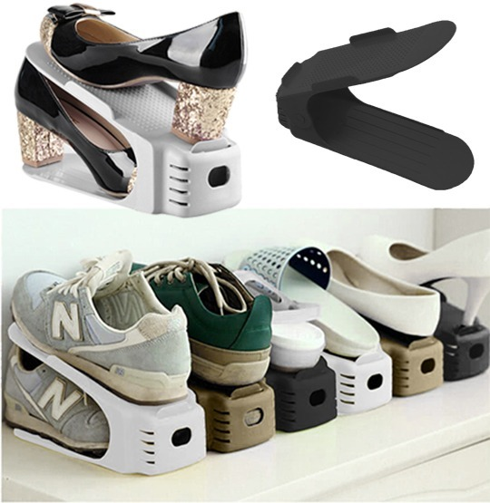 c878f4bff 20 Organizador De Sapatos Rack - Sapateiras C  Regulagem - R  186