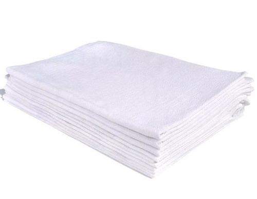 20 panos de prato copa liso branco bainha 44 x 75 cm atacado